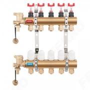 "Distribuitor/colector FERRO- alama repartitor tip SN-RZP 1"" 7 iesiri, robineti termostatici"