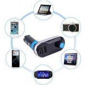 Modulator auto FM cu functie de incarcare si bluetooth