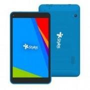 "Tablet Stylos Taris 7"" Quadcore1GB / 8GB / azul Android 8.1, STTTA84A"