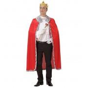 Koningsmantel en kroon