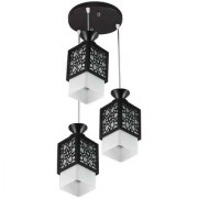 LeArc Designer Lighting Wood Glass Pendent HL3583
