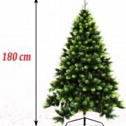 Gusta novogodišnja jelka Polymix 180 cm