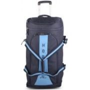 HOBIE Bottom-Dropped Wheel (Expandable) Duffel Strolley Bag(Blue, Black)