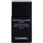 Chanel Perfection Lumiére Velvet maquillaje efecto piel seda de acabado mate tono 30 Beige SPF 15 30 ml