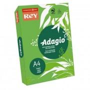 Másolópapír, színes, A4, 80 g, REY \Adagio\, intenzív zöld