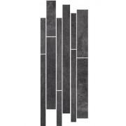 Paradyż Taranto grafit mix paski listwa 20x52