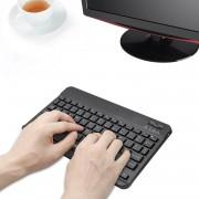 Tecknet Ultra Slim Backlit Bluetooth Keyboard X366 - безжична клавиатура за компютри (черен)