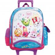 Mochila De Carro Escolar ATM PACKS, Shopkins Multicolor-3040
