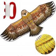 Papalote Cometa De Aguila Dorada Plegable 170x70cm