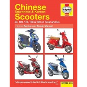 Chinese Taiwanese &: Korean Scooters 50cc125cc &: 150cc (04-14)