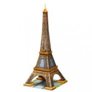 Puzzle 3D Turnul Eiffel 216 Piese.Fiecare piesa este individual realizata manual