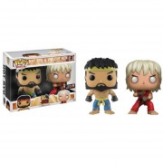 Funko Pop 2 Pack Hot Ryu Violent Ken Gamestop Street Fighter