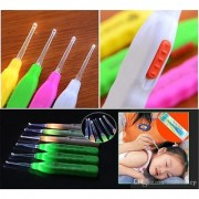 Safety Ear Pick Wax Remover Ear-pick - With Light Ear Cleaner