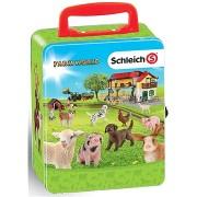 Klein Schleich gyűjtői bőrönd állatoknak