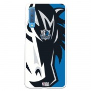 Unique Be Unique Funda Gel NBA Dallas Mavericks para Samsung Galaxy A7 2018