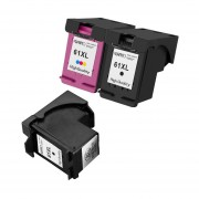 3pcs Para Los Cartuchos De Tinta HP 61XL Officejet 61 4630 2620 Deskjet 1000 2000 3000