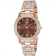 Gio Collection Analog Brown Dial Womens Watch - G2012-77