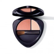 Dr. Hauschka Fard de obraz Duo (Blush Duo) 5,7 g 01 Soft Apricot