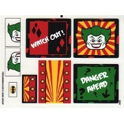 "Lego Original Sticker For Super Heroes Set #6857 ""The Dynamic Duo Funhouse Escape"""