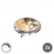 Osram Set of 3 G53 dimmable Osram halogen spotlights AR111 540lm 3000K