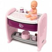 Patut Copii Co-Sleeper pentru papusi Smoby Baby Nurse 2 in 1