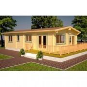 Casa de madera Molly 3 de 1220x620 cm. para Jardín