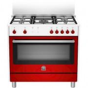 La Germania Ris95c71cwr Cucina 90x60 5 Fuochi A Gas Forno A Gas Ventilato Con Gr