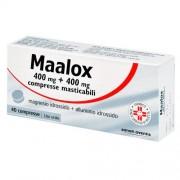 Sanofi-aventis spa Maalox 40 Compresse Masticabili 400 Mg + 400 Mg
