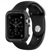 Spigen Pouzdro / kryt pro Apple Watch 42mm - Spigen, Rugged Armor Black