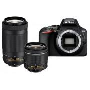 Nikon Kit de cámara réflex Nikon D3500 + AF-P 18-55mm VR + AF-P 70-300mm VR