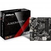 Tarjeta Madre ASROCK A320M-HDV Socket AM4 HDMI DVI USB 3.1 M.2