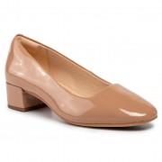 Обувки CLARKS - Orabella Alice 261435154 Pralline Patent