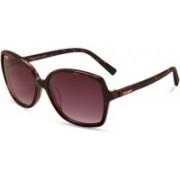 KEEDA Oval Sunglasses(Violet)