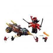 Lego Ninjago A perfuradora de terra do Cole 70669Multicolor- TAMANHO ÚNICO