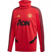 adidas Manchester United Warm Top Red - Rood - Size: Small