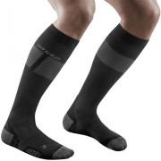CEP Men Ski Socks Ultralight black/dark grey