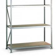 META Regał półkowy, nośność 600 kg,, 2500x1800x1050 mm, podstawowy