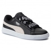 Сникърси PUMA - Basket Heart De Wn's 364082 01 Puma Black/Puma White