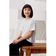 Mango Kids - Tricou copii Lines 110-164 cm
