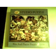 "Bits and Pieces 1500 Piece Puzzle 24"" x 33"" - Teddy Bear Collection"