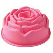 Forma de copt din silicon pentru tort Boboc de Trandafir