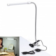 YouOKLight 2-Mode Dimmable USB 25-LED luz blanca fria lampara de lectura