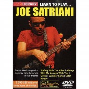 Roadrock International Lick Library: Learn To Play Joe Satriani DVD