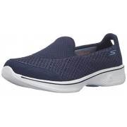 Skechers Performance Women s Go Walk 4 Kindle Slip-On Walking Shoe Navy/White 10 B(M) US
