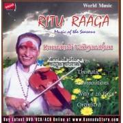 Ritu Raaga - Kunnakudi Vaidyanathan Audio CD