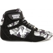 Gorilla Wear Perry High Tops Pro - Zwart/Grijs Camo - Maat 48
