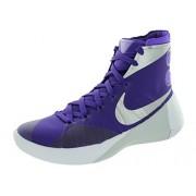 Men's Nike Hyperdunk 2015 Team Basketball Shoe Court Purple/Metallic Silver/Purple Venom/White Size 10 M US …