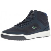 Lacoste Men's Explorateur Spt Mid 117 2 Casual Shoe Fashion Sneaker, Navy, 9. 5 M US