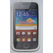 Силиконов гръб ТПУ за Samsung S6802 Galaxy Ace Duos Бял