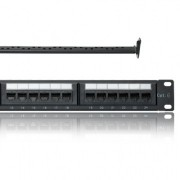 Patch panel 24 porturi Cat 6